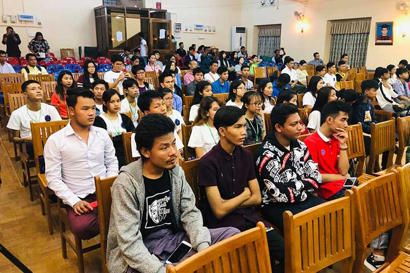 International Youth Day in Yangon