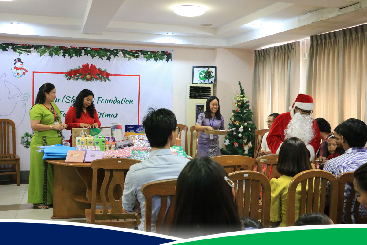 Merry Christmas - Yangon Head Office
