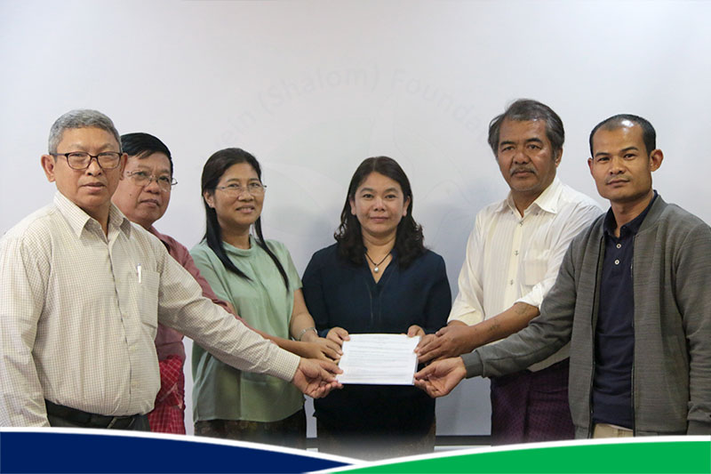 Singing Ceremony - Sub-Grant Agreement with CSO Partners for Community Peace Support (CPS) Project
