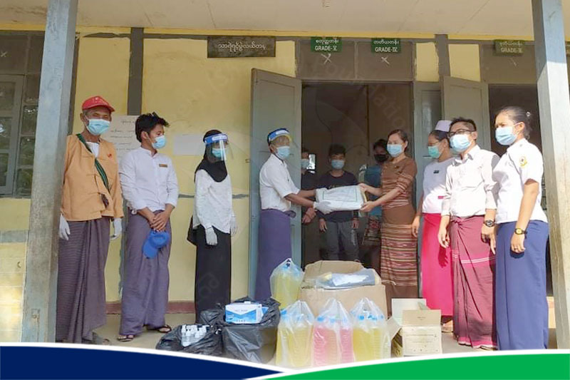 Fellowship & Gathering and Donation – IYCAP (Kayin)
